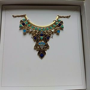 NEW NIB Stella and Dot Stone Tile Necklace